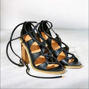 Urban outfitters Sofia lace-up heels